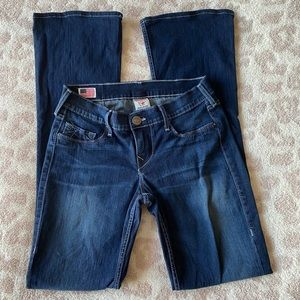 True Religion Size 27 Bootcut Jeans